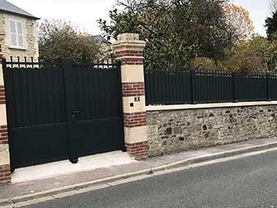 Portes d'entrée Caen Calvados 14