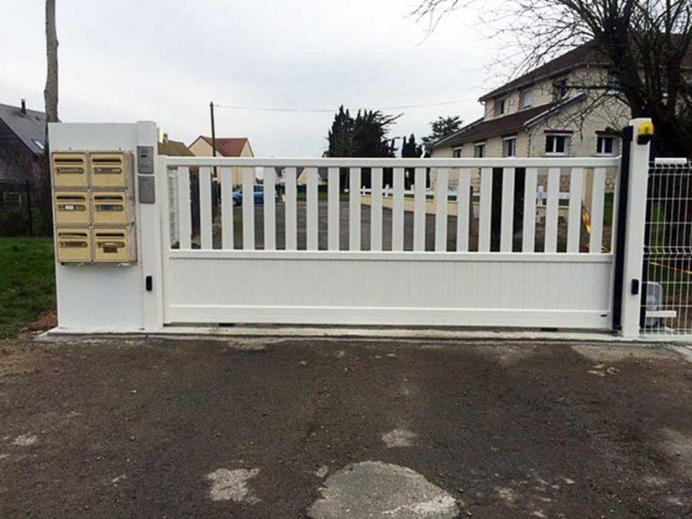 Portails et clôture